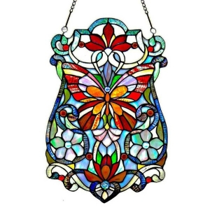 River of Goods: Butterfly Fleurs Glass Panel