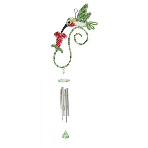 Beadworx: Hummingbird Wind Chime, Small
