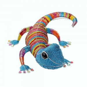 Beadworx: Beaded Gecko, Super Stripe