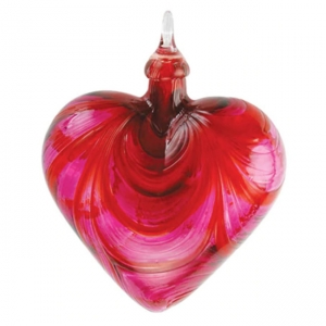 Glass Eye Studio: Heart Ornament, Valentine