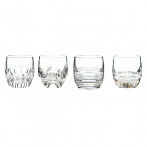 Waterford Mixology: Double Old Fashioned Glasses, Set of 4