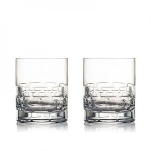 Rogaska: Triple Old Fashioned Glasses, Set of 2