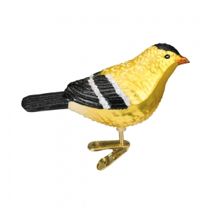 Old World Christmas: American Goldfinch