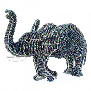 Beadworx: Beaded Elephant