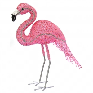 Beadworx: Beaded Flamingo, Medium
