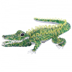 Beadworx: Beaded Gator, Large