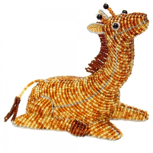 Beadworx: Beaded Baby Giraffe