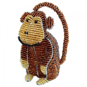 Beadworx: Beaded Baby Monkey