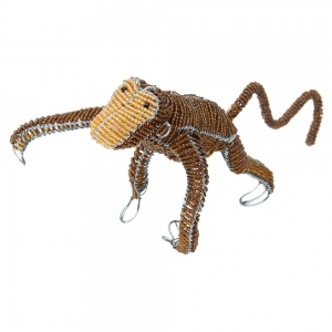 Beadworx: Beaded Hanging Monkey