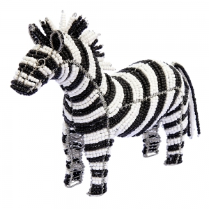Beadworx: Beaded Zebra