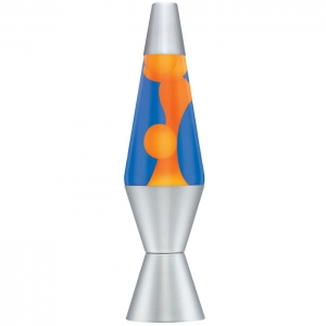 Orange & Blue Lava Lamp