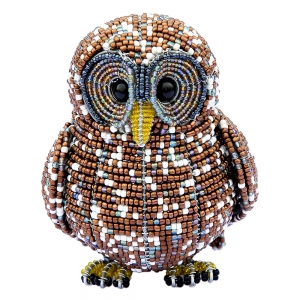 Beadworx: Beaded Spotted Owl
