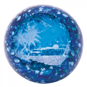 Glass Eye Studio: Summer Breeze Paperweight