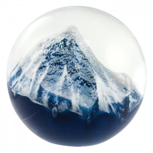 Glass Eye Studio: Glacier Paperweight