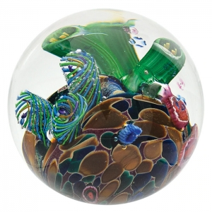Glass Eye Studio: Cool Pool Paperweight
