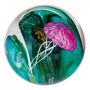 Glass Eye Studio: Phantom of the Sea Paperweight