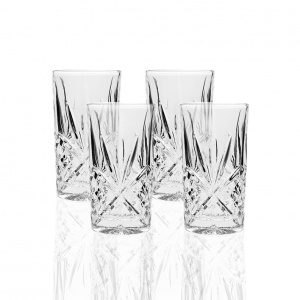 Godinger: Dublin Highball Glasses, Set of 4