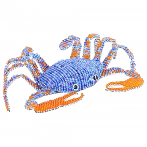 Beadworx: Blue Crab, Small