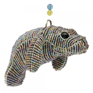 Beadworx: Beaded Manatee