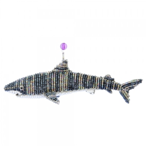 Beadworx: Beaded Tiger Shark