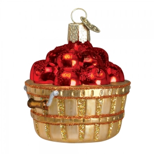 Old World Christmas: Apple Basket