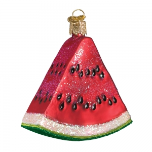 Old World Christmas: Watermelon Wedge