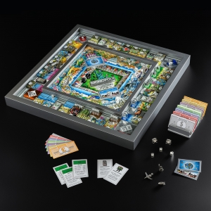 Winning Solutions: Monopoly 3D World Edition by Charles Fazzino