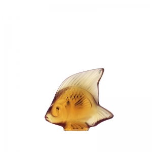 Lalique: Fish, Amber