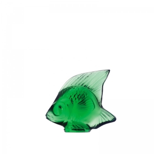 Lalique: Fish, Emerald