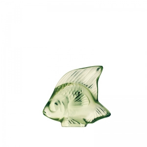 Lalique: Fish, Light Green