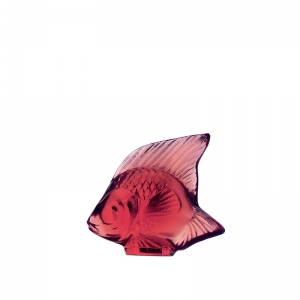 Lalique: Fish, Golden Red