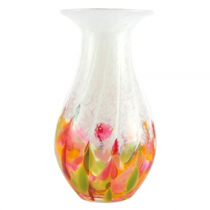 Glass Eye Studio: Vase, Tulip Mosaic