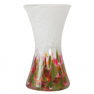 Glass Eye Studio: Hourglass Vase, Tulip Mosaic