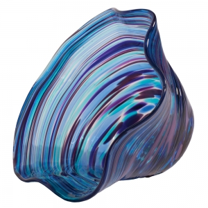 Glass Eye Studio: Mini Floppy Bowl, Violet Twist