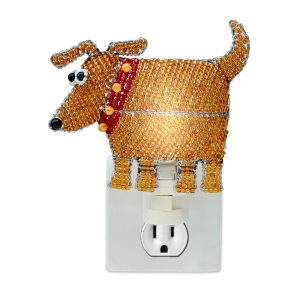 Beadworx: Beaded Dog Night Light