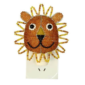 Beadworx: Beaded Lion Night Light