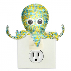 Beadworx: Beaded Octopus Night Light