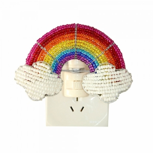Beadworx: Beaded Rainbow Night Light
