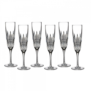 Waterford: Lismore Flutes, Set of 6