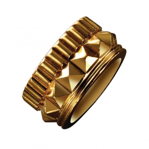 Waterford Rebel: Gracie Stud Ring, Gold