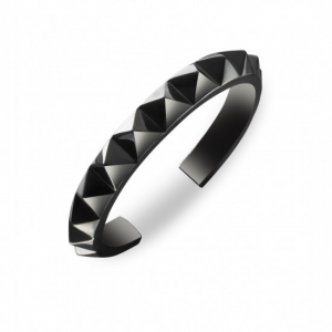 Waterford Rebel: Ella Single Row Cuff Bracelet, Gunmetal