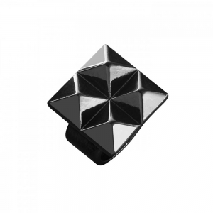 Waterford Rebel: Ella Stud Ring, Gunmetal