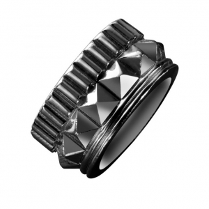 Waterford Rebel: Gracie Stud Ring, Gunmetal
