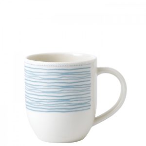 Royal Doulton: ED Blue Polka Dots Mug