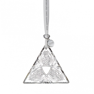 Waterford: 2020 Triangle Panel Ornament