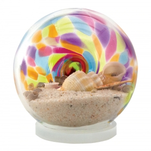 Glass Eye Studio: Small Sea Globe, Rainbow