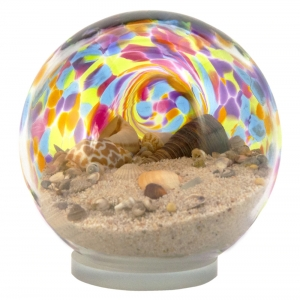 Glass Eye Studio: Large Sea Globe, Rainbow