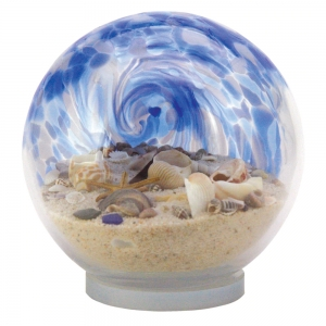 Glass Eye Studio: Large Sea Globe, Blue