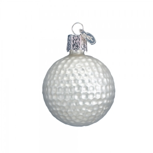 Old World Christmas: Golf Ball
