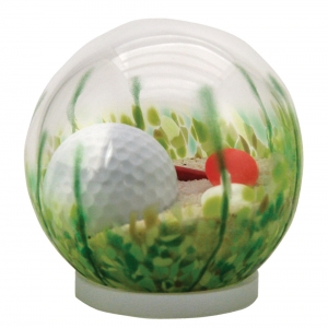 Glass Eye Studio: Small Sand Trap Globe
